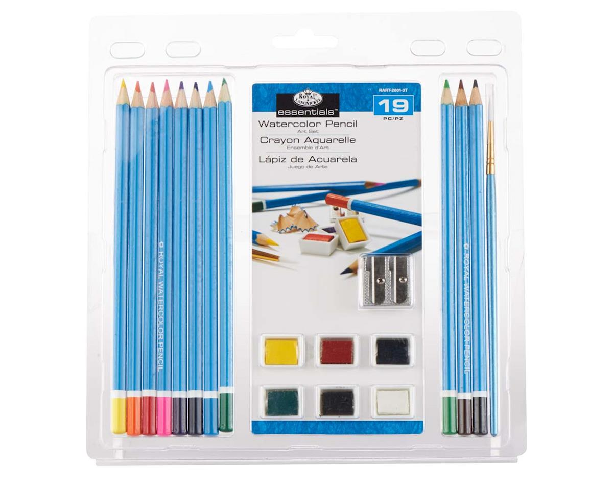 Royal Brush Manufacturing RART-2001 3T-Watercolor Pencil Clamshell