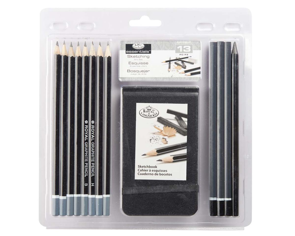 Royal Brush Manufacturing RART-2102 3T-Sketching Pencil w/Sketchbook