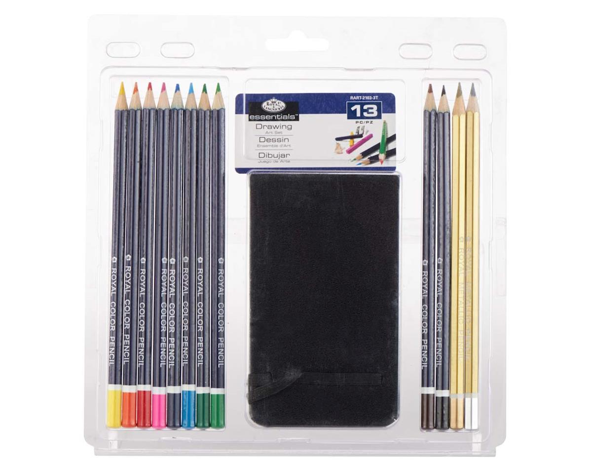 Royal Brush Manufacturing RART-2103 Drawing Pencil Set w/Sketchbook