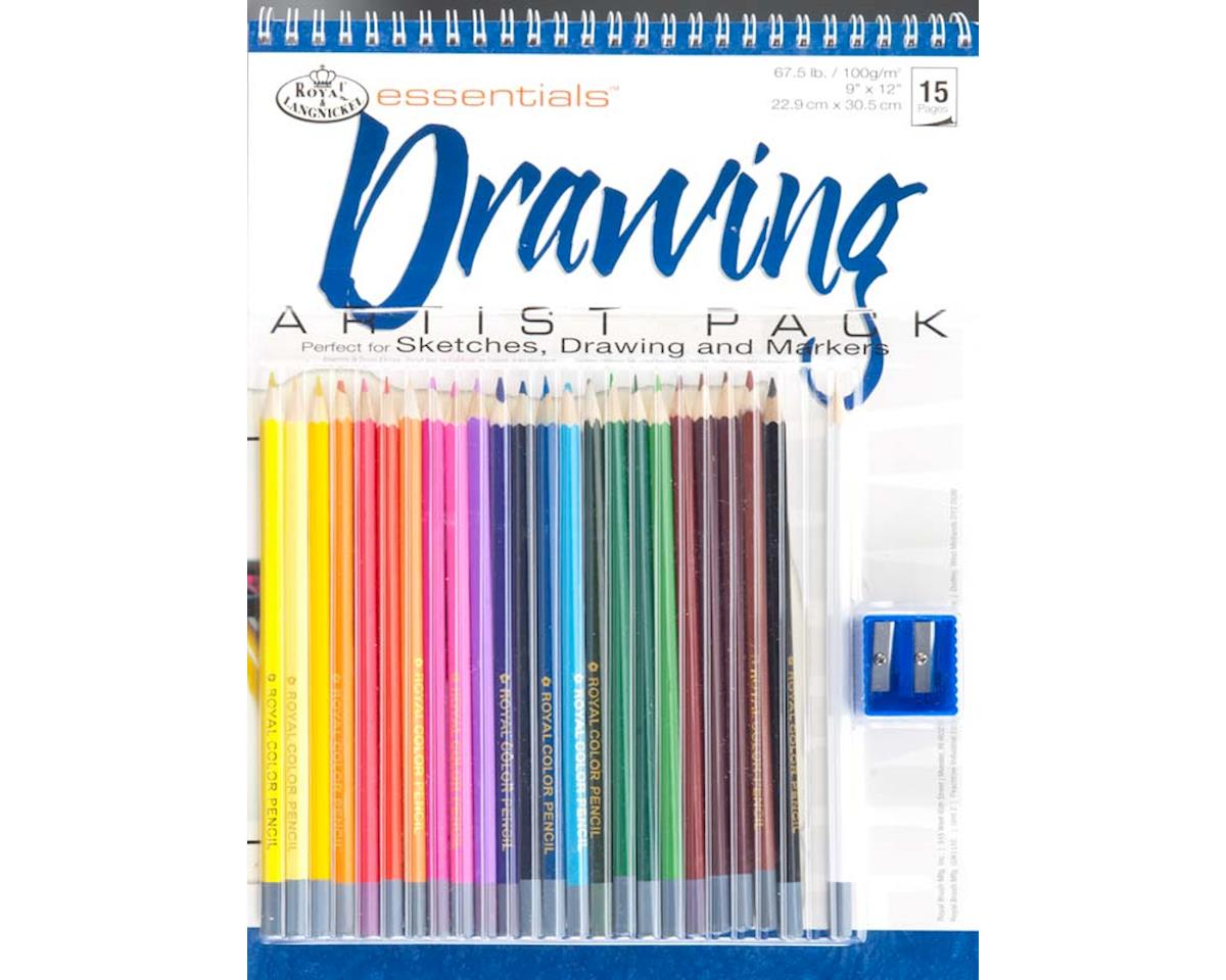 Royal Brush Manufacturing RD504 Drawing Artist Pack
