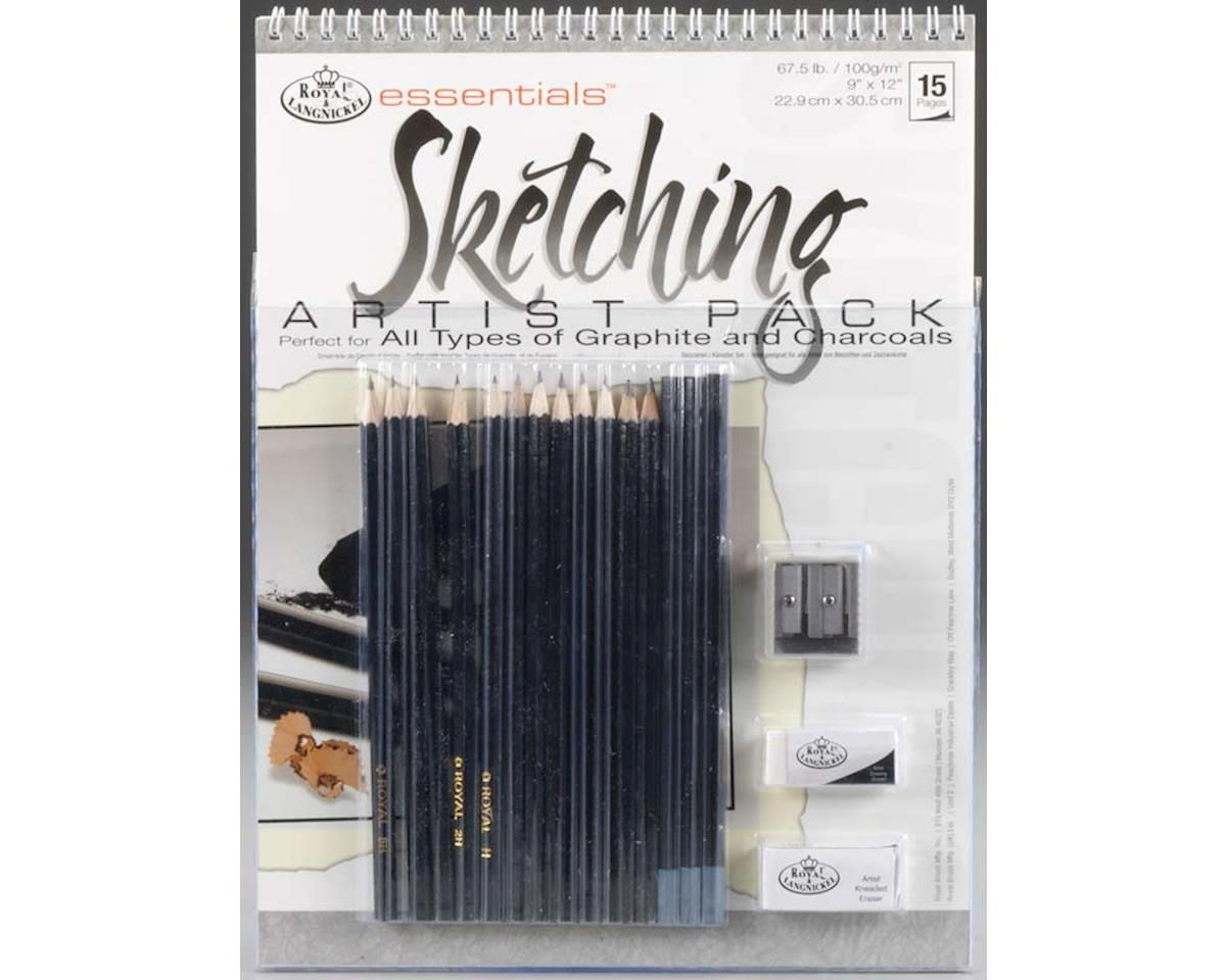 Royal Brush Manufacturing RD513 Sketching Artist Pack