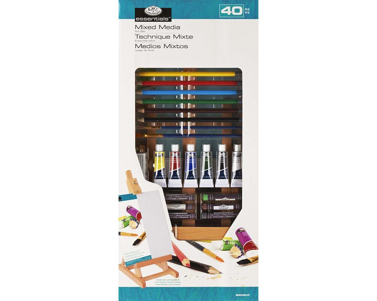 "Royal Brush Manufacturing REA5320 SM ""H"" Easel Mixed Media Set"