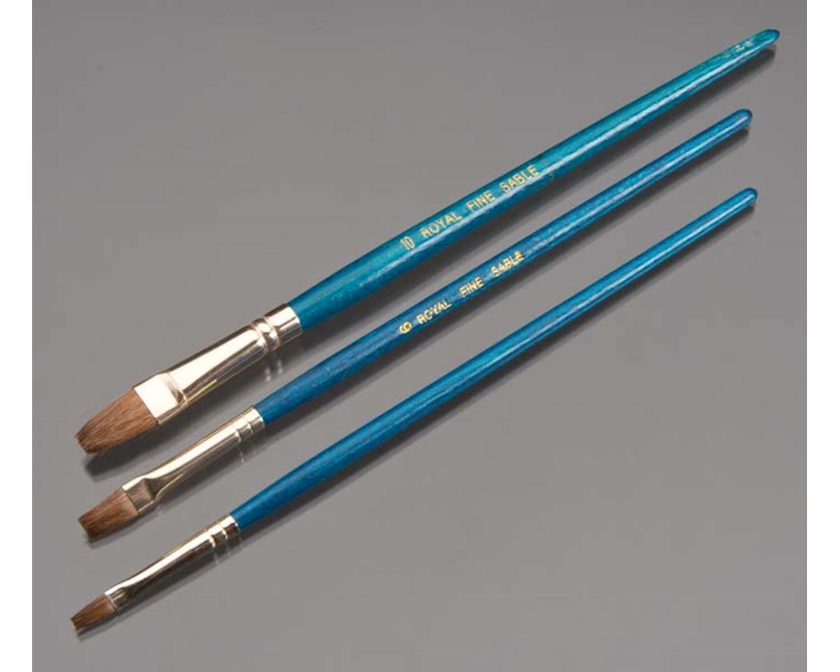 Value Brush Set-3pc Sable Shader Set 1