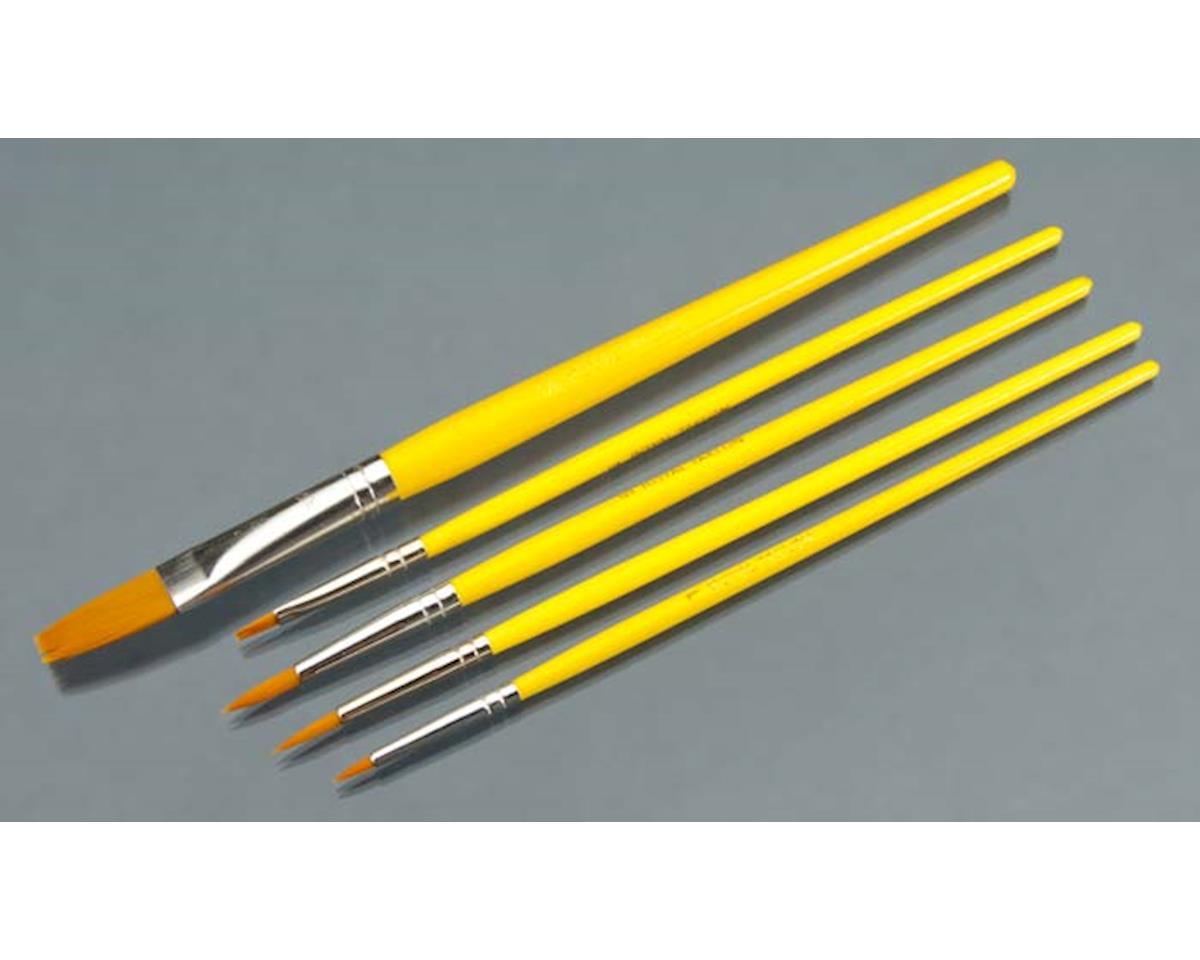 "RSET-9122 Gold Taklon Rounds 1/3/5/Shader 2/Flat 5/8"""