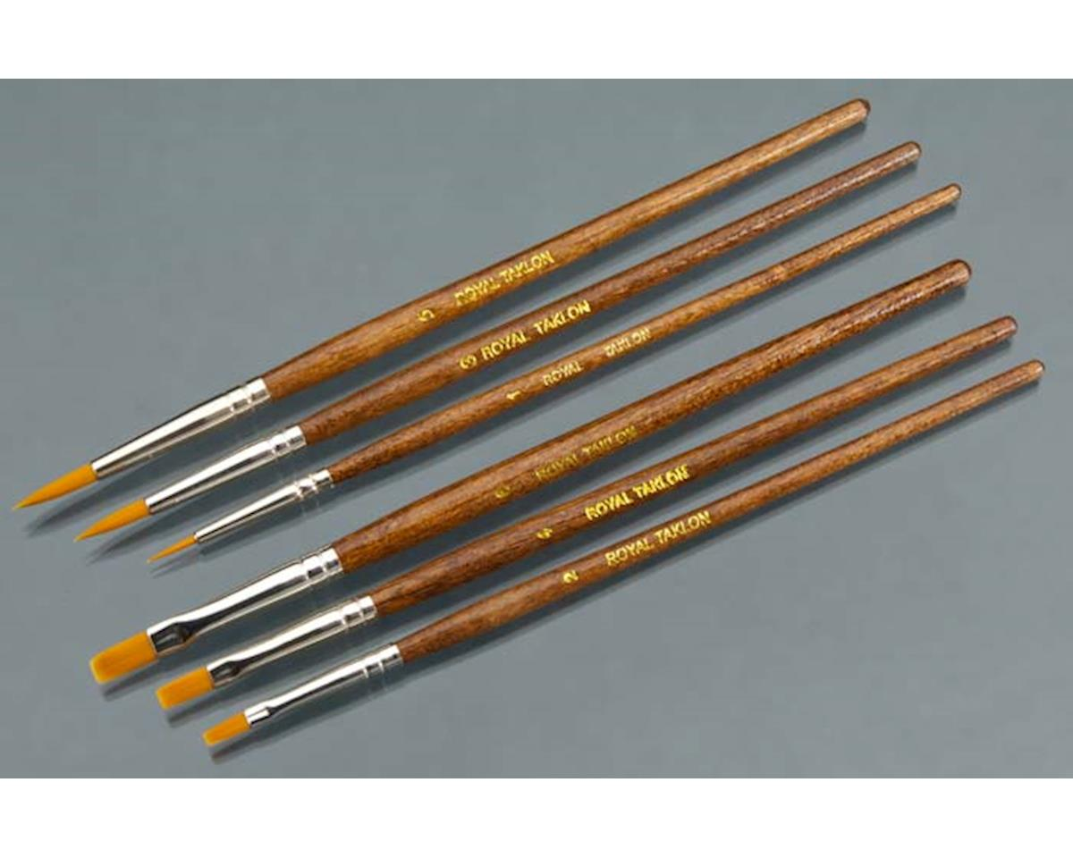 RSET-9164 Gold Taklon Shaders 2/4/6 Rounds 1/3/5 (6)