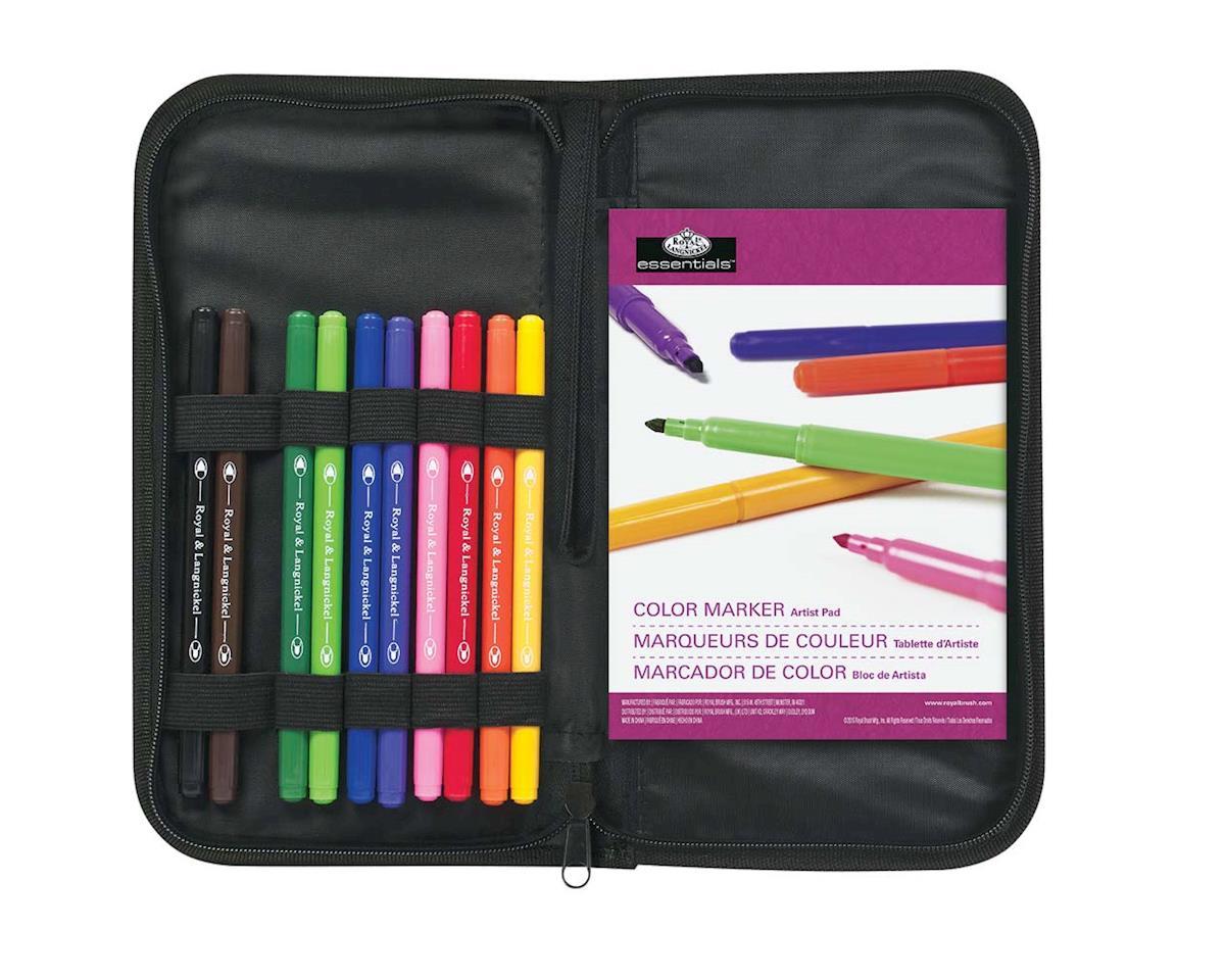 Royal Brush Manufacturing RSET-KCCM Keep N' Carry Color Marker Set