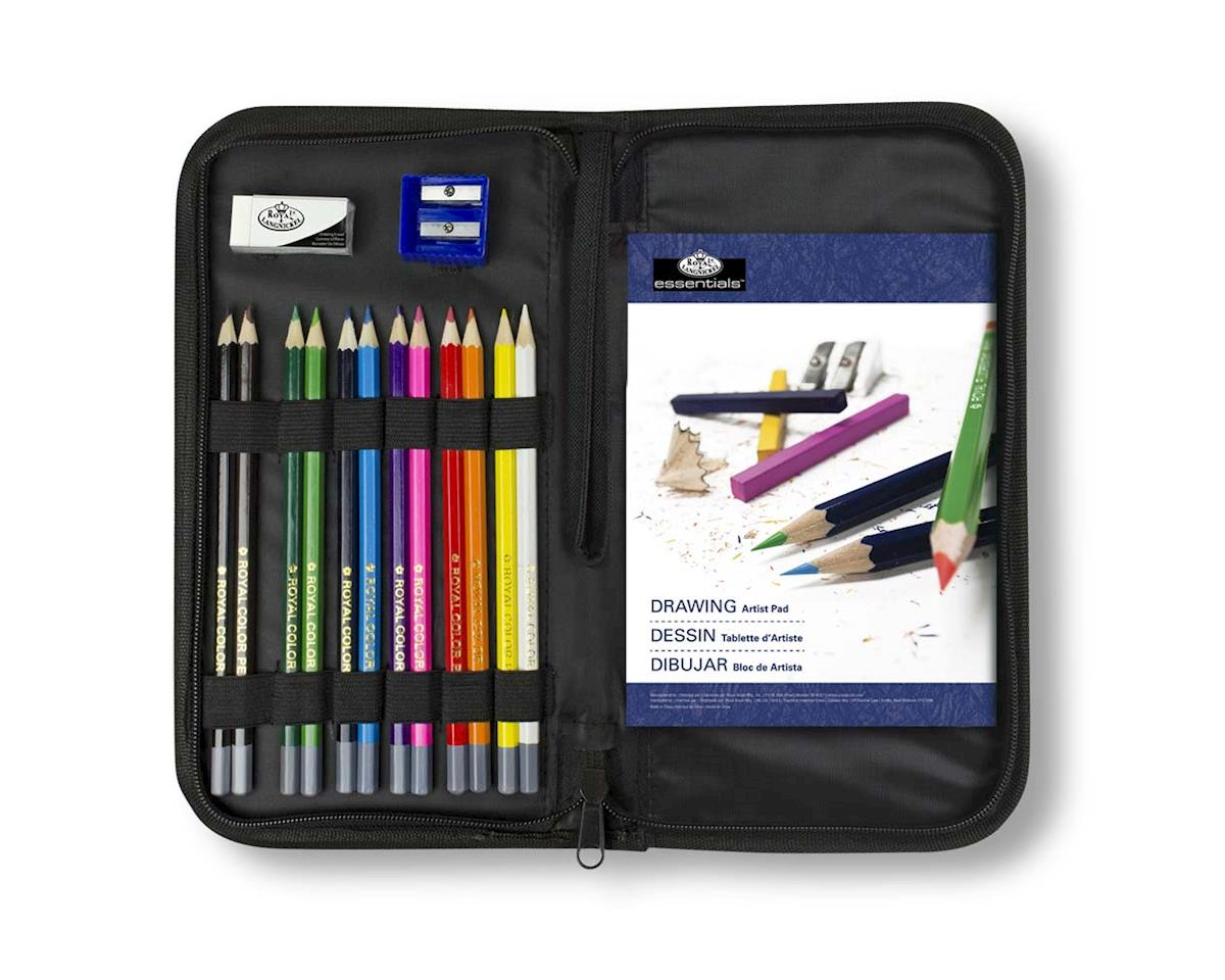 Royal Brush Manufacturing RSET-KCDS Keep N' Carry Drawing Set
