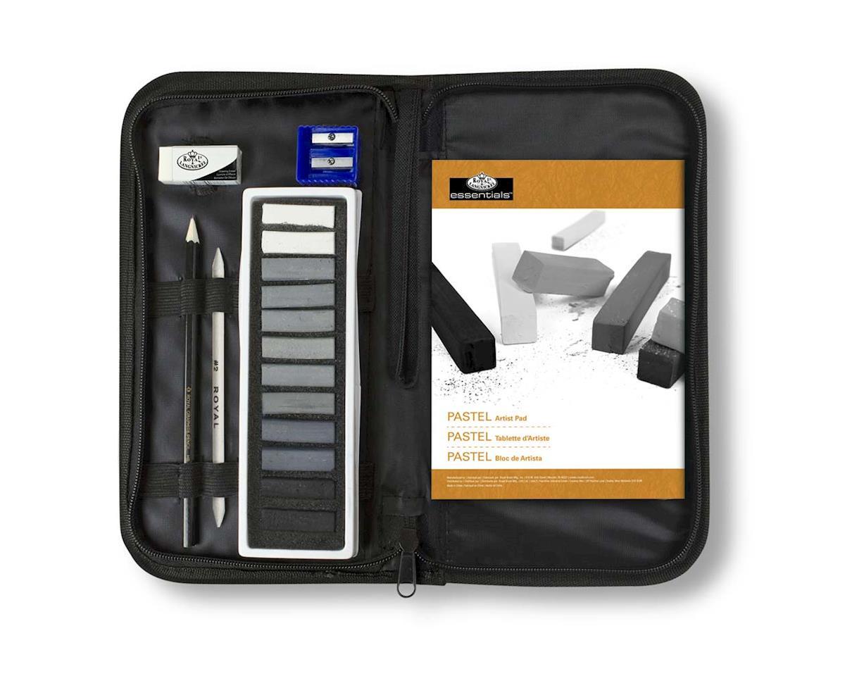 Royal Brush Manufacturing RSET-KCGP Keep N' Carry Soft Pastel Grey