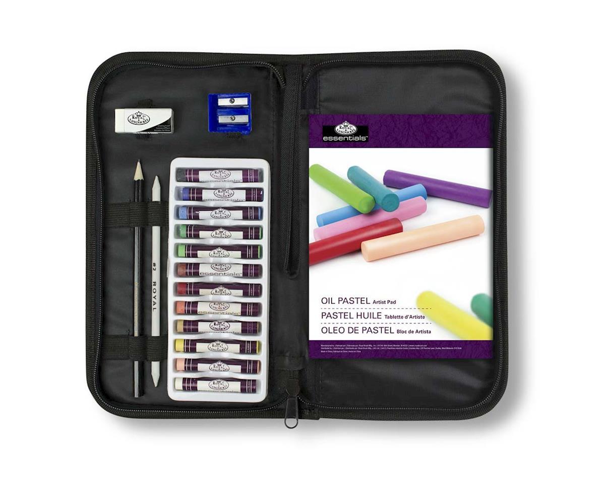 Royal Brush Manufacturing RSET-KCOPS Keep N' Carry Oil Pastel Set