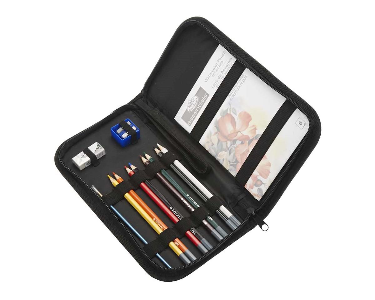 Royal Brush Manufacturing RSET-KCWPS Keep N' Carry Watercolor Pencil