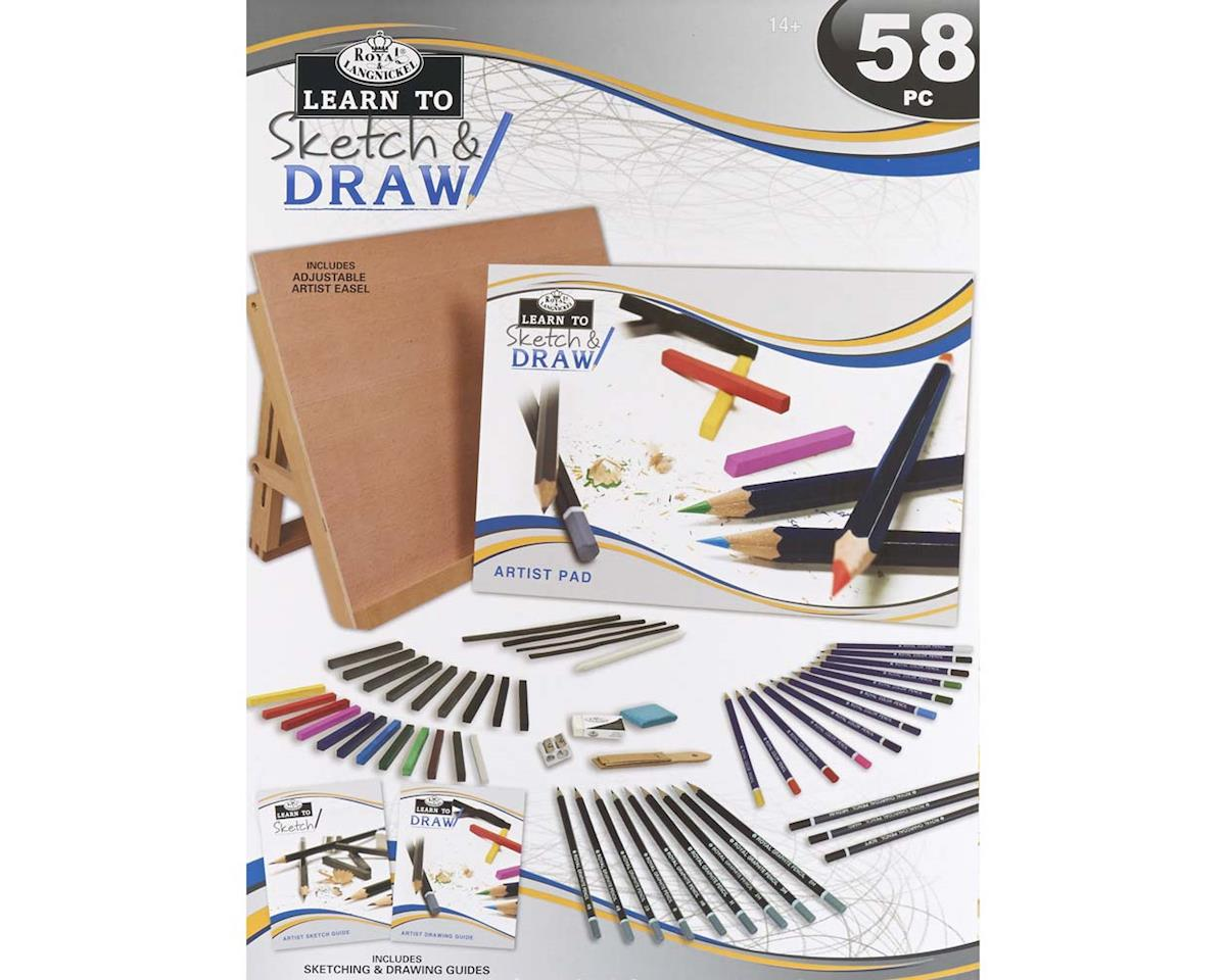 RSET-LT102 Learn To Sketch/Draw by Royal Brush Manufacturing