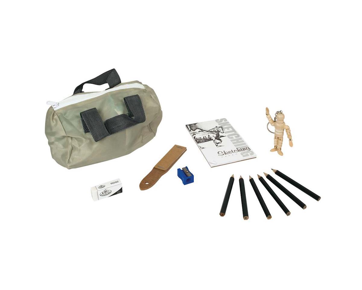 Royal Brush Manufacturing RSET-MS102 Mini Art Set Sketching