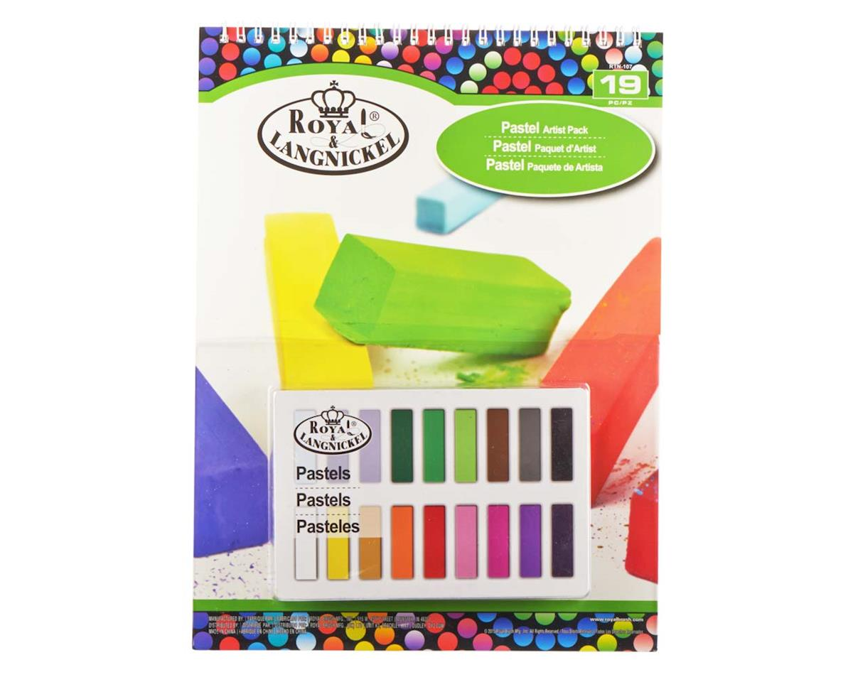 Royal Brush Manufacturing RTN-107 9x12 Soft Pastel Pad Set