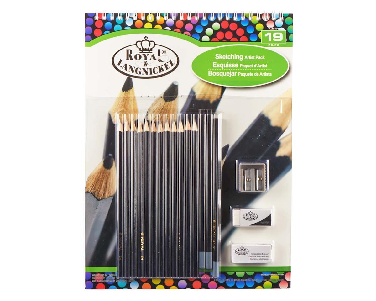 Royal Brush Manufacturing RTN-108 9x12 Sketching Pad Set