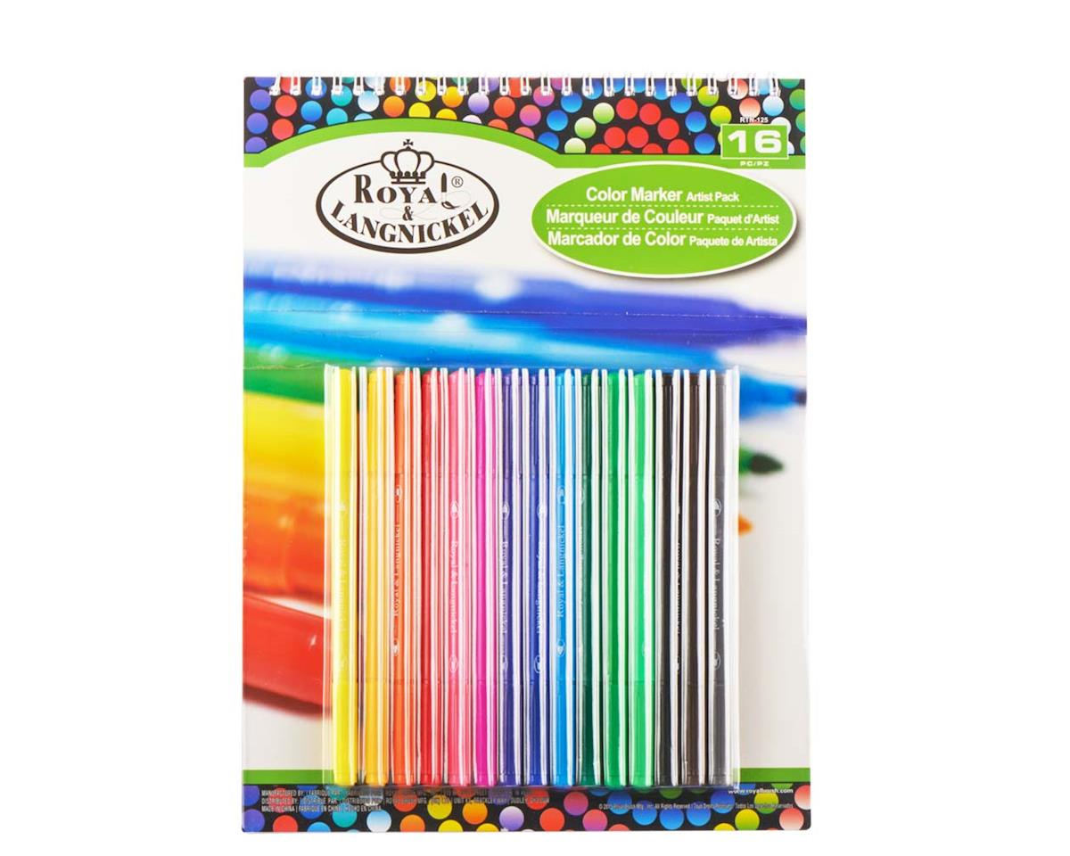 Royal Brush Manufacturing RTN-125 9x12 Marker Pad Set