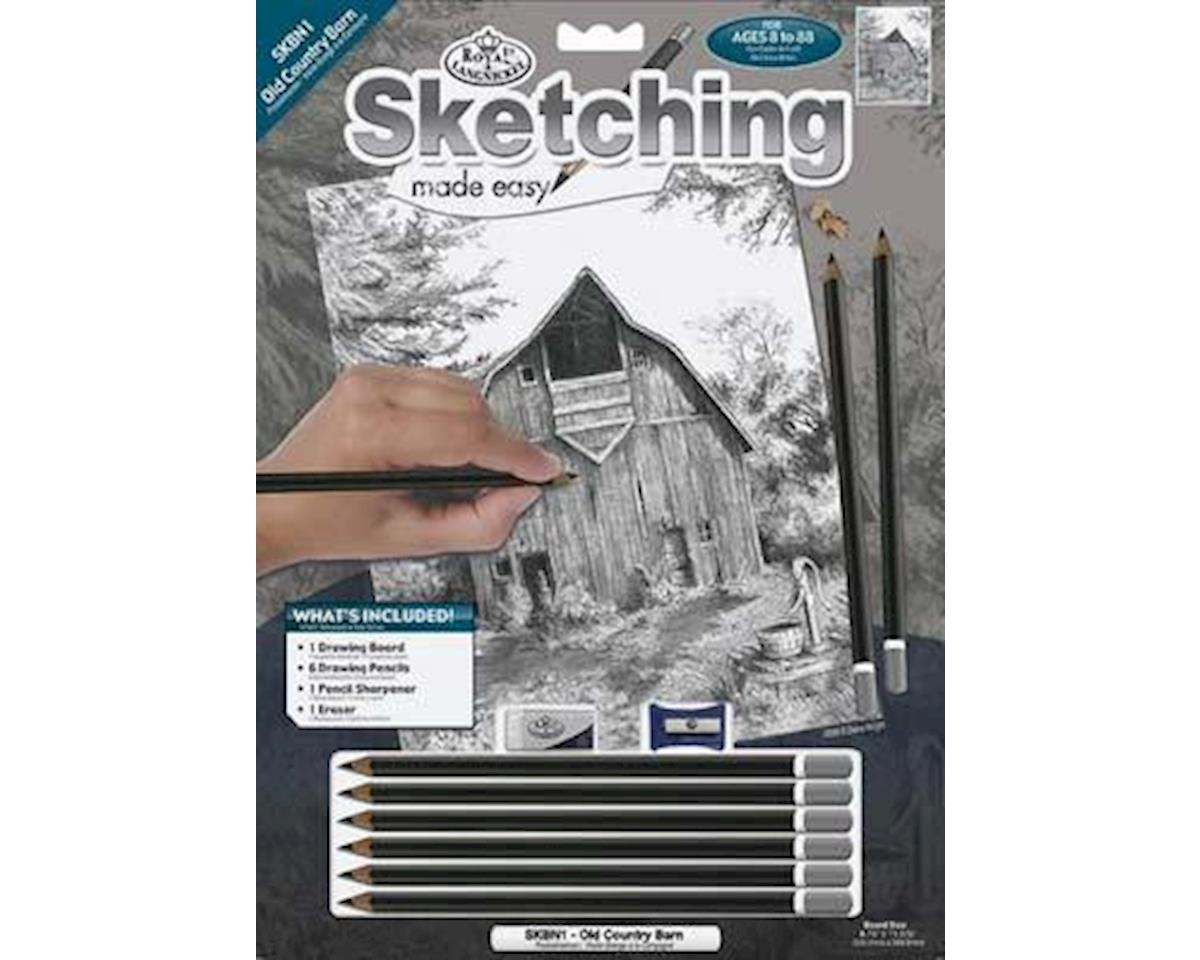 Royal Brush  Sketching Made Easy - Old Country Barn by Royal Brush Manufacturing