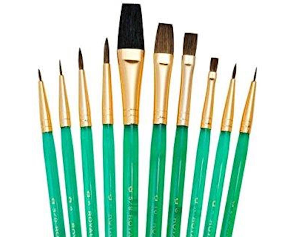 Royal Brush Manufacturing Royal & Langnickel SVP3 Quality Sets Of 10 Brushes SVP3 - Sable/Camel Round & Shaders