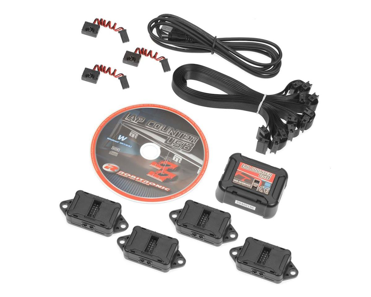 RS161 Robotronic Lap Counting System USB Set