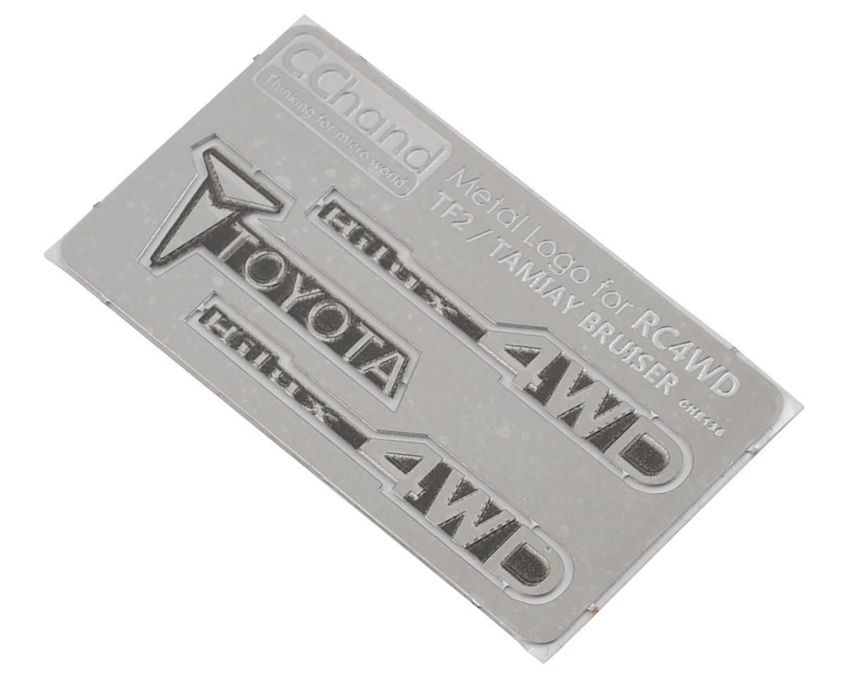 RC4WD CChand Tamiya Hilux Metal Emblem Set