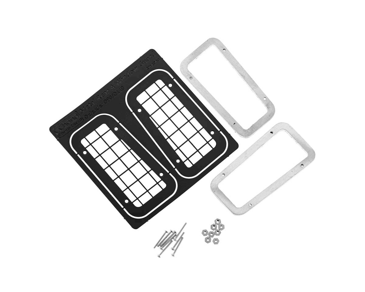 RC4WD Rear Sml Window Guards Land Rover Defender