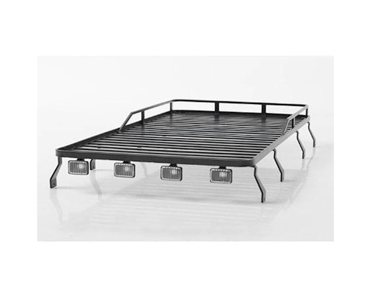 Roof Rack with Lights : Defender D110 by RC4WD