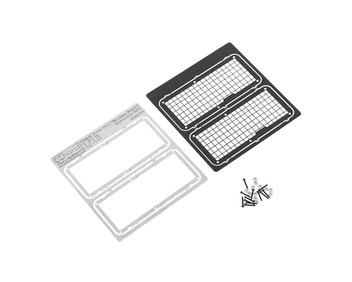 VVV-C0270 Meatl Side Window Guards 1/18 Gelande D90 by RC4WD