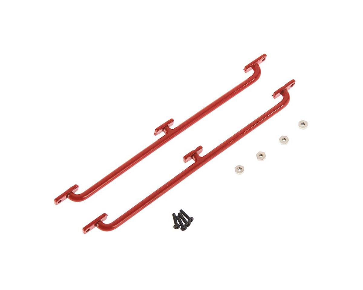 RC4WD Side Body Guards 1/18 Gelande D90 REd