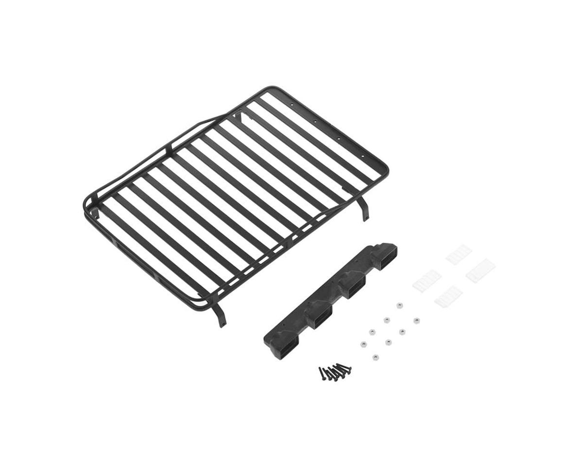 VVV-C0279 Roof Rack w/Light Pods 1/18 Gelande D90 Black by RC4WD