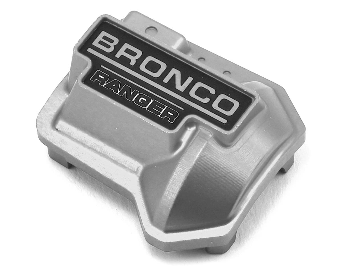 RC4WD CChand Traxxas TRX-4 Ford Bronco Ranger XLT Aluminum Diff Cover (Silver)