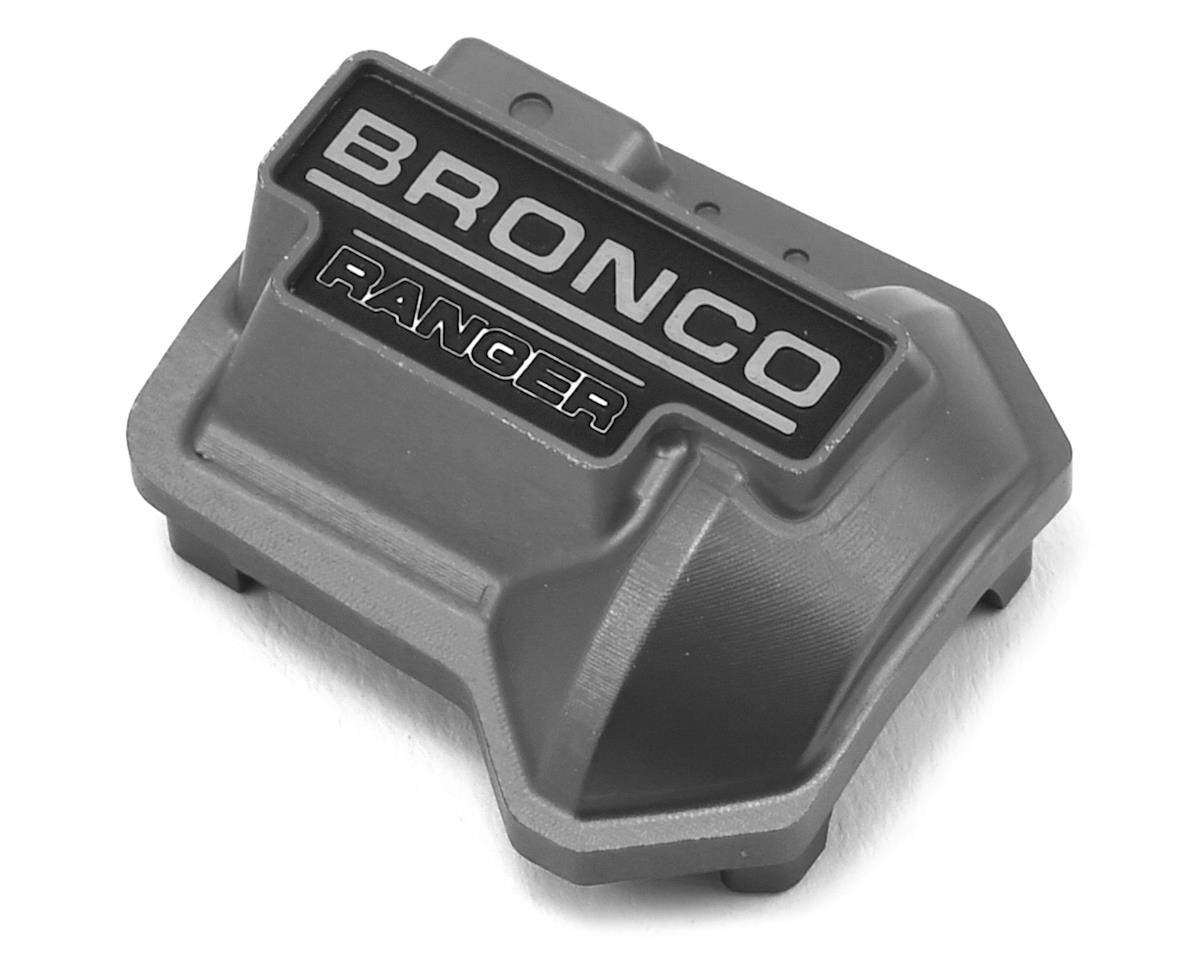 CChand TRX-4 Bronco Aluminum Diff Cover (Grey) by RC4WD
