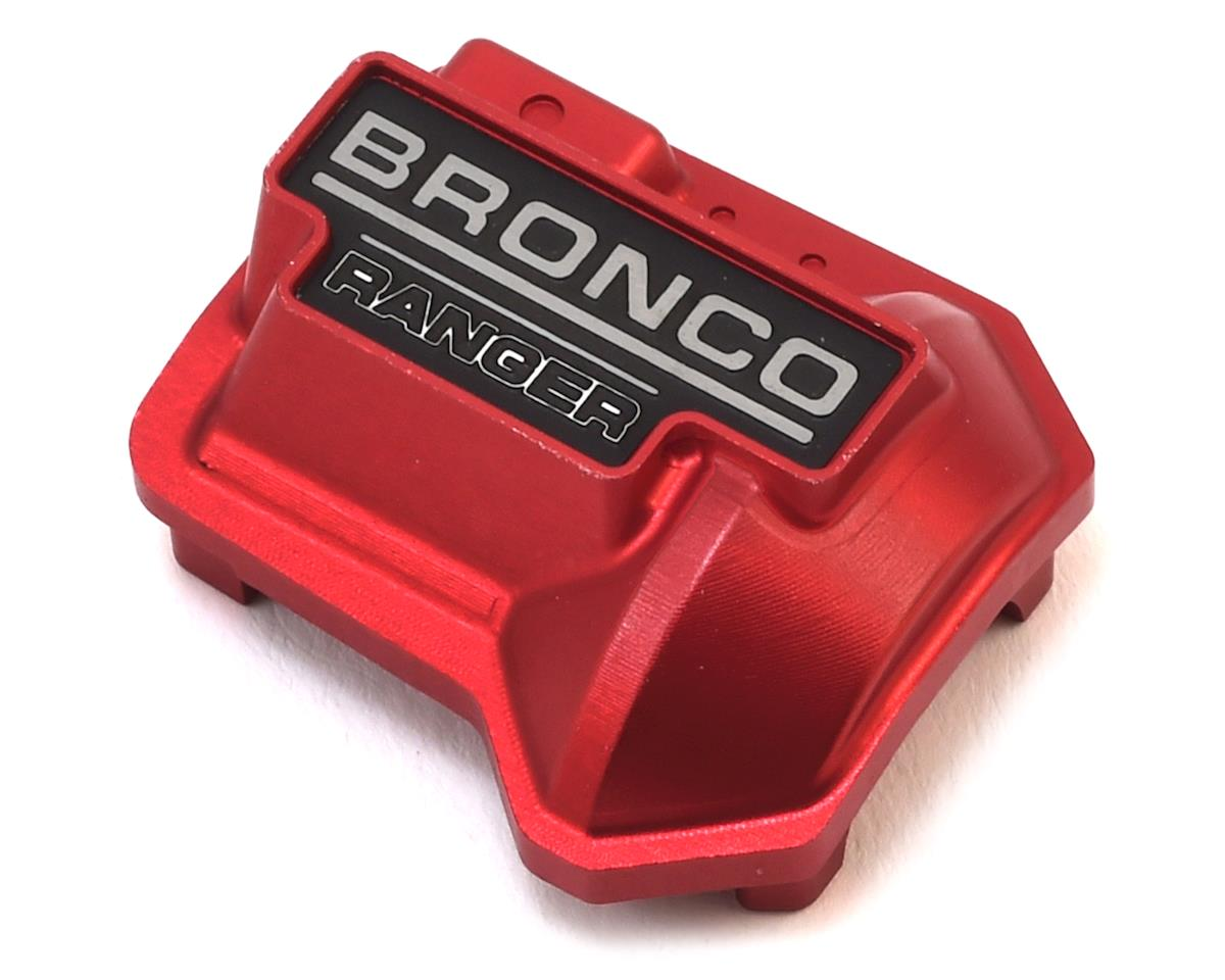 RC4WD CChand TRX-4 Bronco Aluminum Diff Cover (Red)