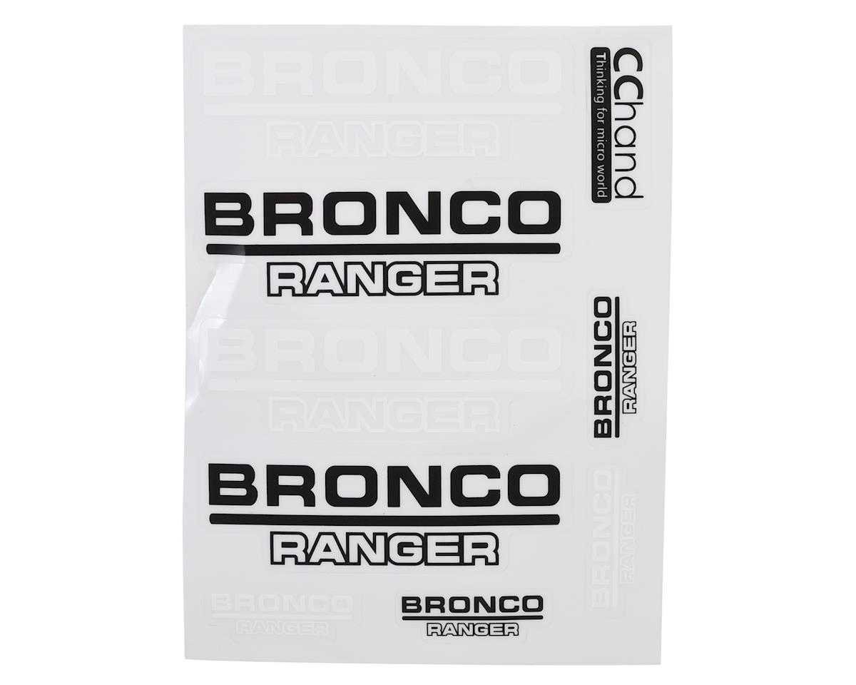 CChand TRX-4 Bronco Body Decals (Style A) by RC4WD
