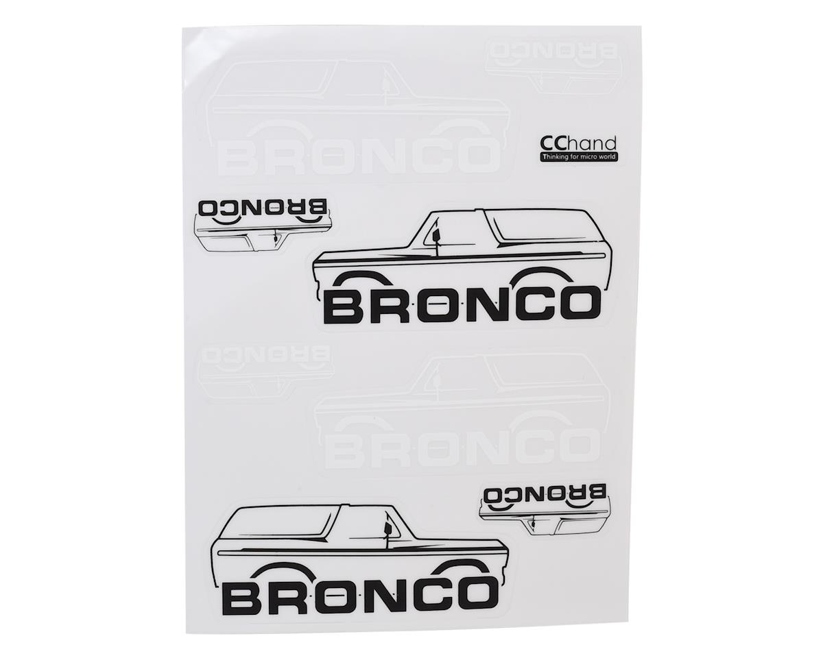 RC4WD CChand TRX-4 Bronco Body Decals (Style B)