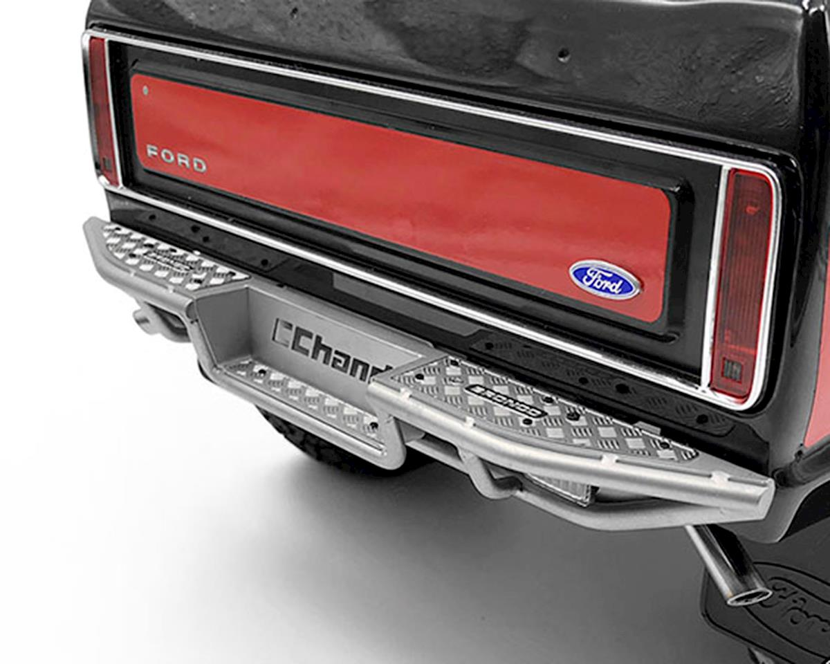 Image 3 for RC4WD CChand TRX-4 Bronco Ranch Rear Step Bumper (Silver)