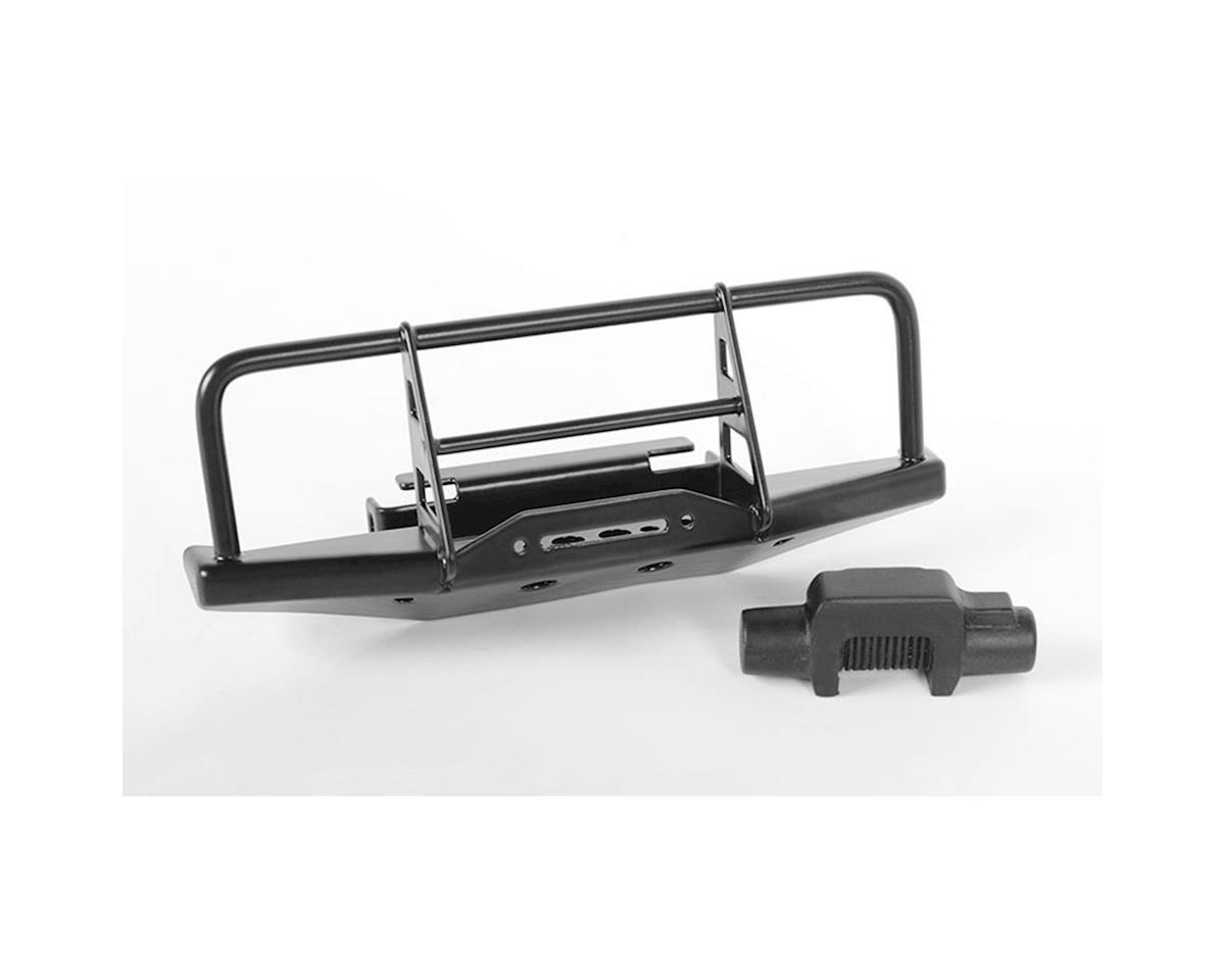 RC4WD CChand 1/18 Gelande II Blackjack Winch Front Bumper w/Faux Winch (Black)