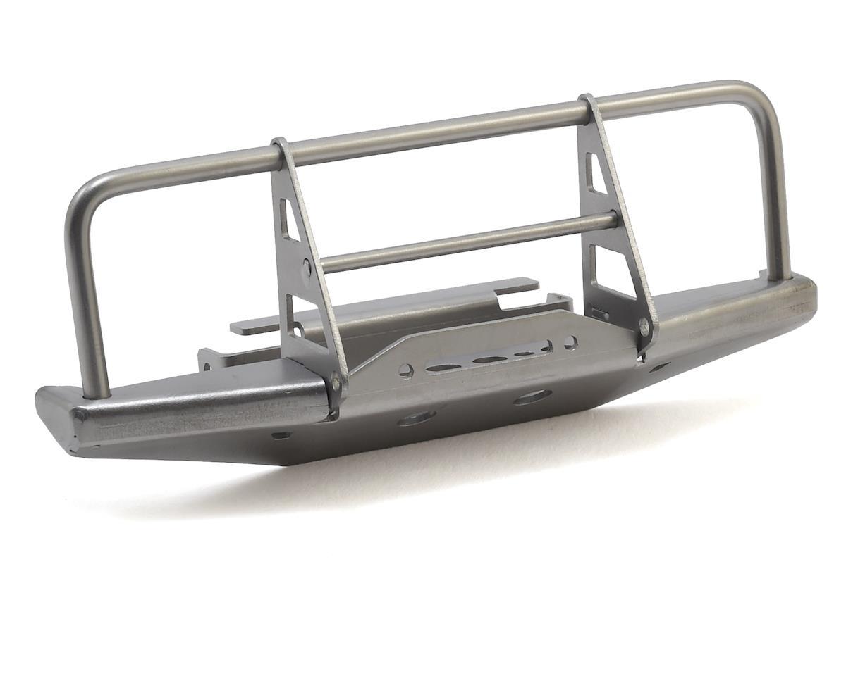 RC4WD CChand 1/18 Gelande II Blackjack Winch Front Bumper (Silver)
