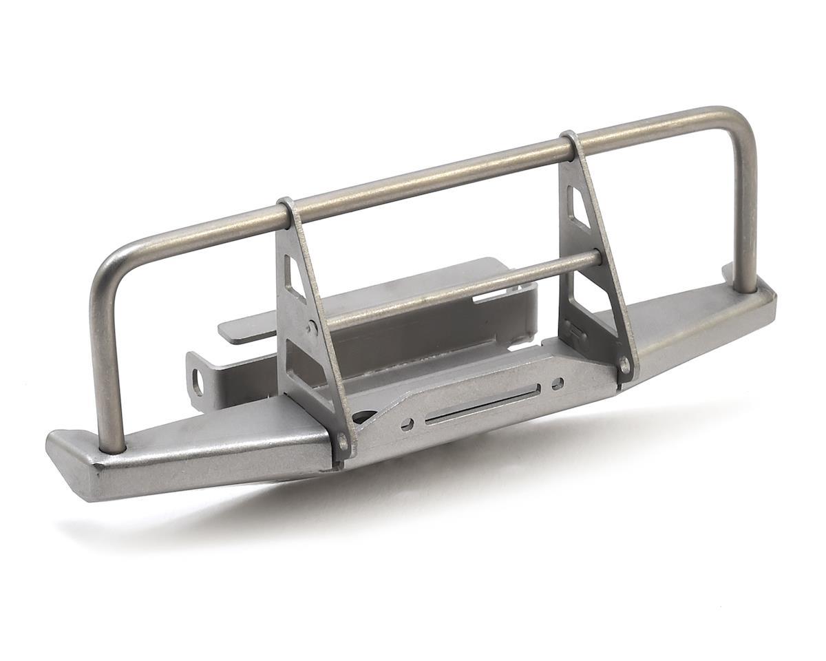 RC4WD CChand 1/18 Gelande II Blackjack Front Bumper w/Faux Winch (Silver)