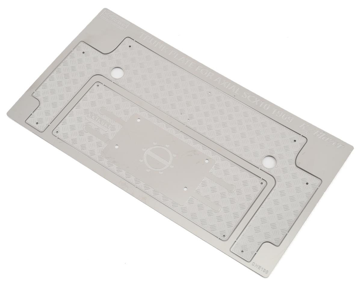 RC4WD CChand Axial SCX10 II 1969 Blazer Steel Rear Bed Plate
