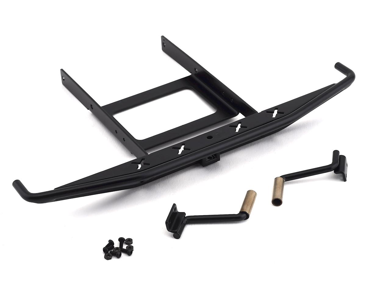 RC4WD CChand SCX10 II 1969 Blazer Rough Stuff Rear Bumper w/Exhaust Tips (Black)