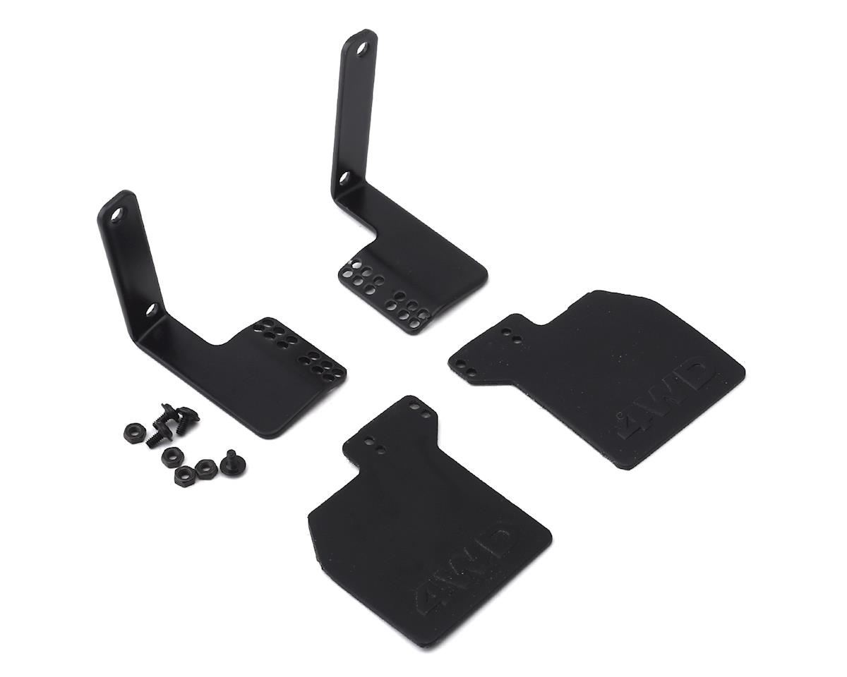 RC4WD CChand 1985 Toyota 4 Runner Hard Body Mud Flap Set (Black) (2)