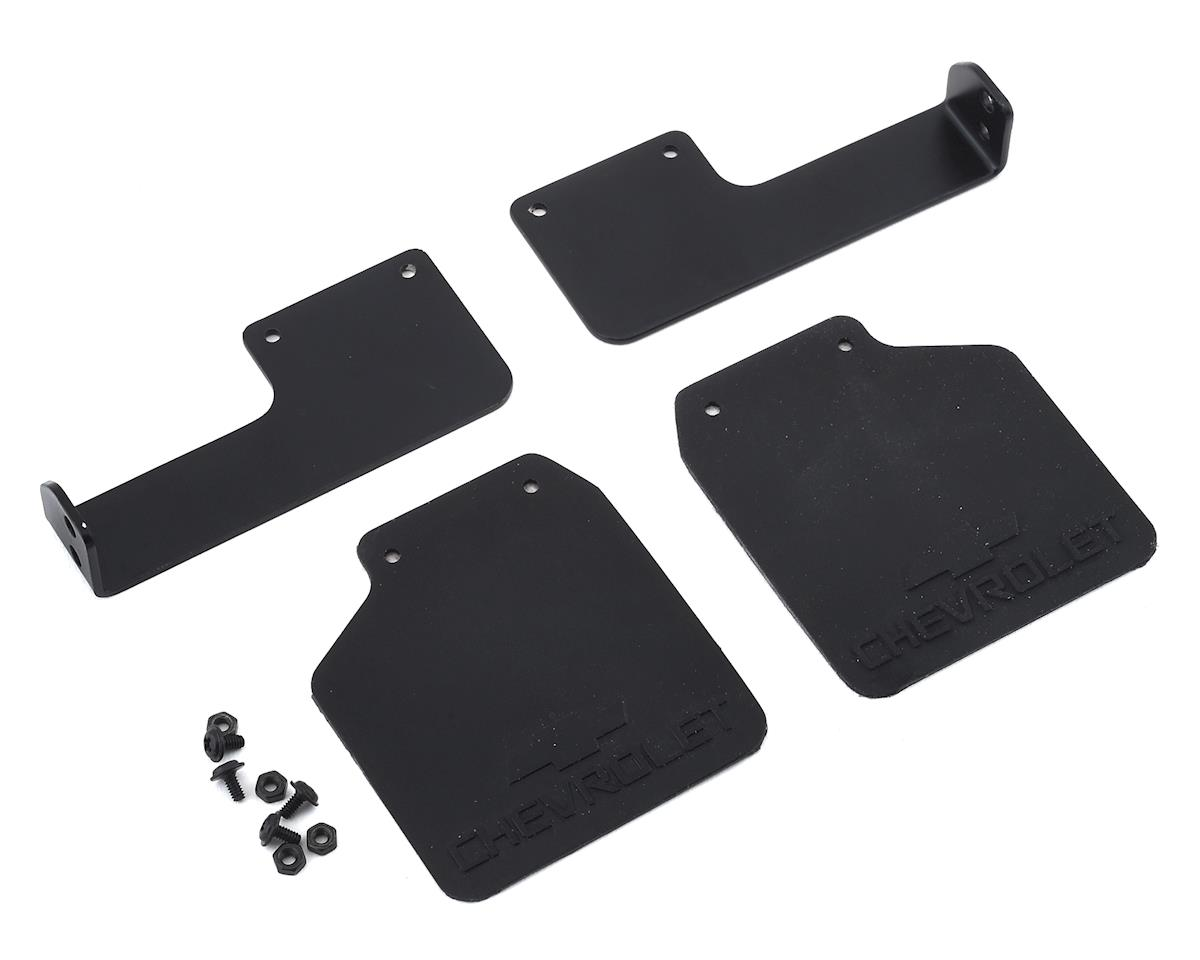 RC4WD CChand TRX-4 Chevy K5 Blazer Rear Mud Flaps (Black) (2)