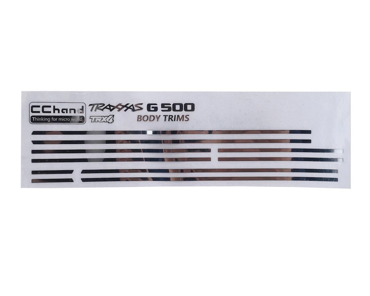 RC4WD CChand TRX-4 Mercedes-Benz G-500 Steel Body Trim
