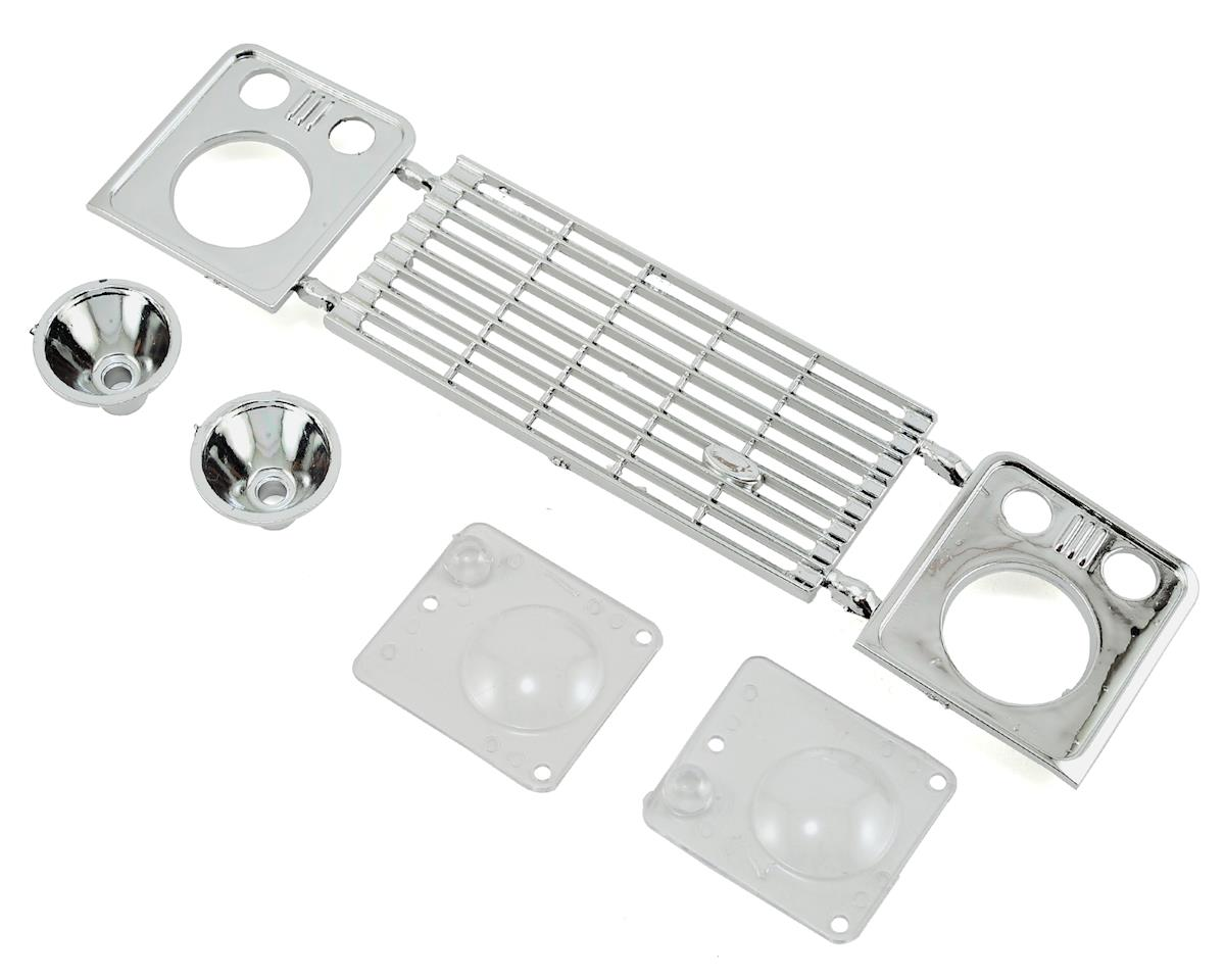 RC4WD Land Rover Defender D90 Front Grille & Light Assembly