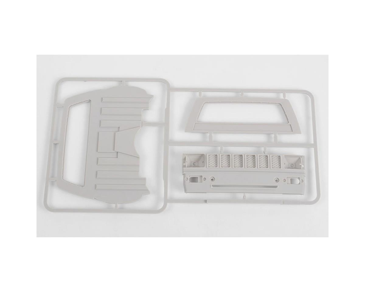 RC4WD Mojave II Cab Back Panels & Grill Parts Tree (Primer Gray)