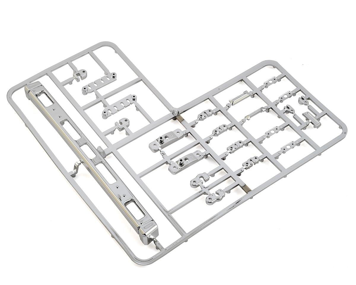 RC4WD Mojave II Bumper & Parts Tree (Chrome)