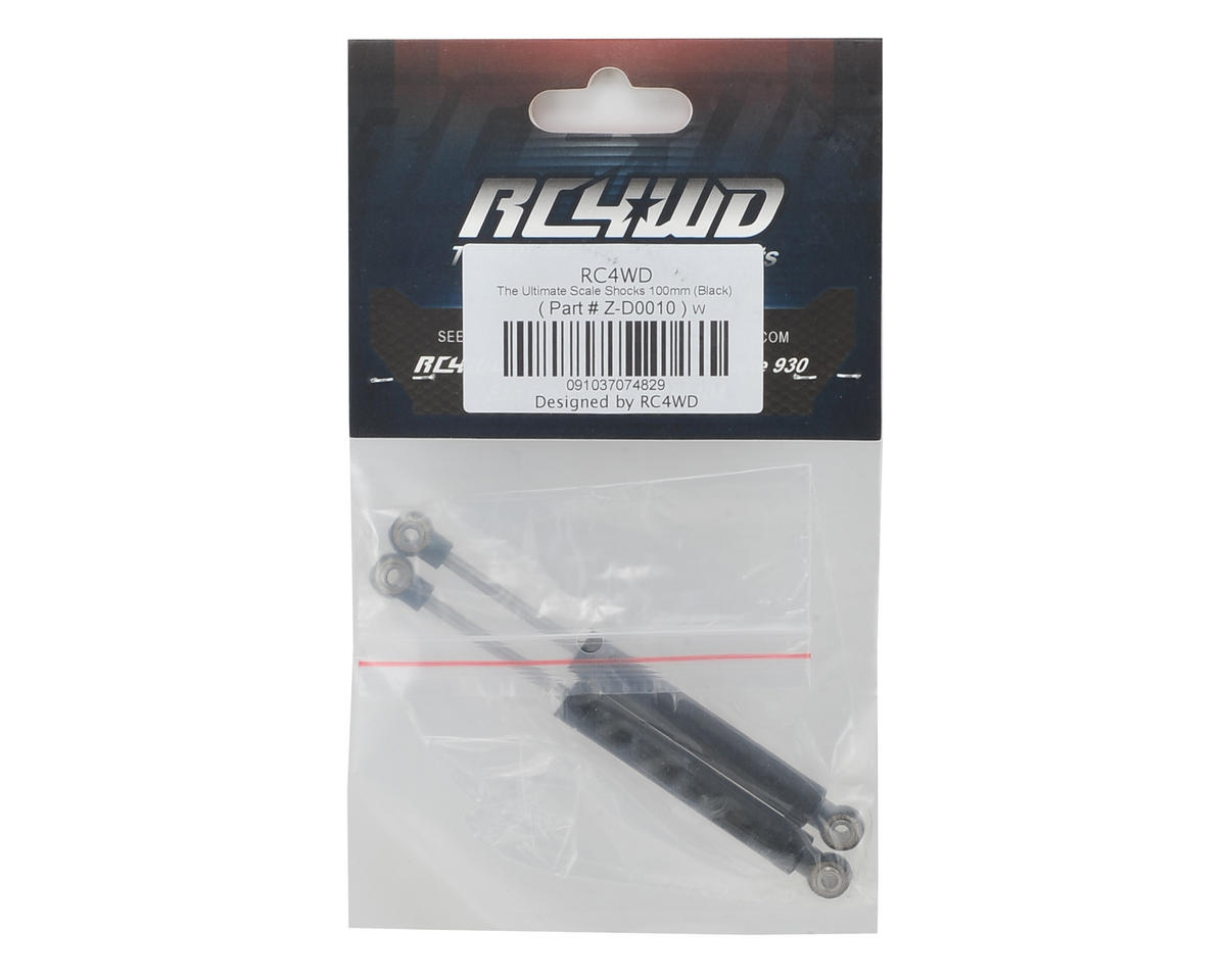 RC4WD Ultimate Scale Shocks (100mm) (2) (Black)