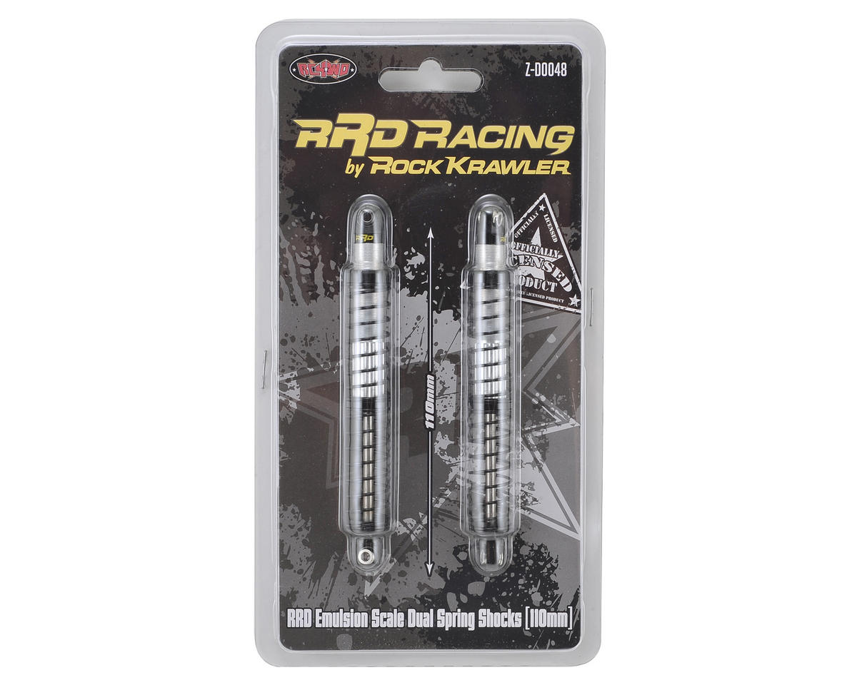 RC4WD RRD Emulsion Scale Dual Spring Shocks (110mm)