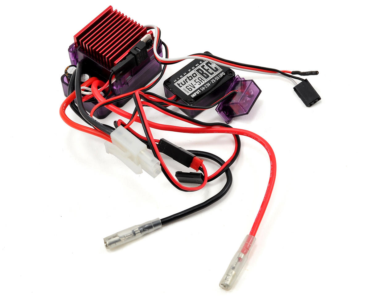 Outcry Single Motor Crawler ESC w/Turbo BEC by RC4WD