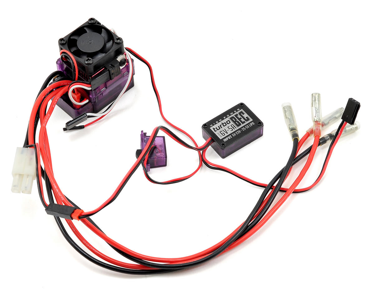 RC4WD Outcry Dual Motor Crawler ESC w/Fan & Turbo BEC