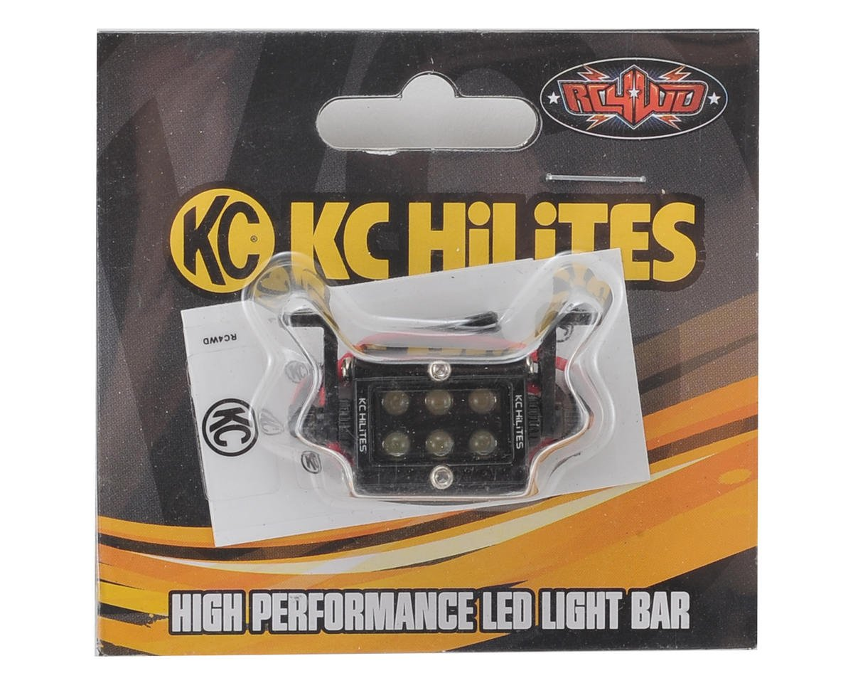 "1/10 KC HiLiTES C Series High Performance LED Light Bar (20mm/0.75"") by RC4WD"